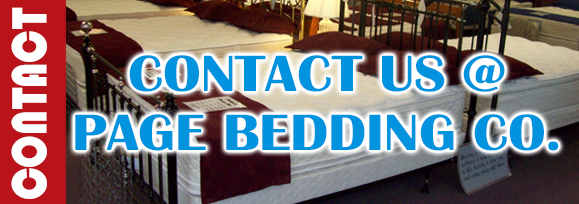 Contact us at Page Bedding Co.